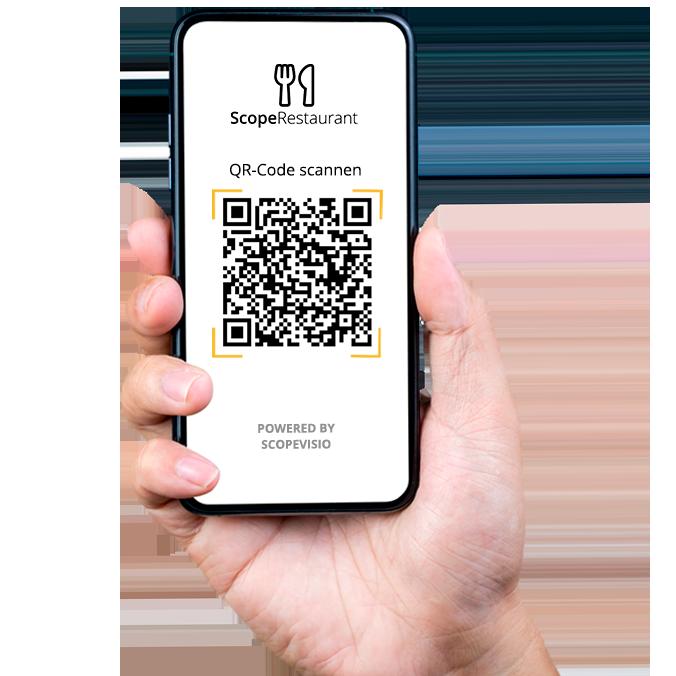 Registrierungsapp-Scan-App-Gastronomie
